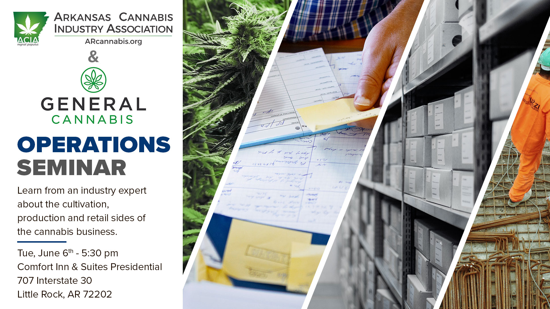Medical Marijuana Operations Seminar – featuring General Cannabis