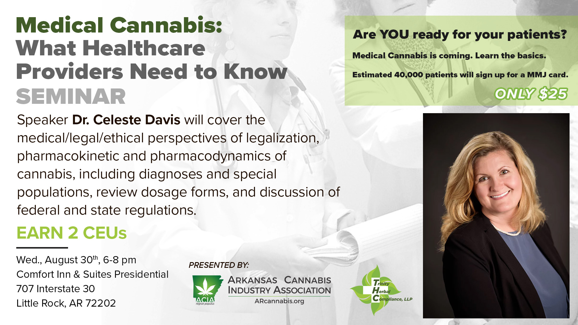 CANCELLED – Medical Cannabis Seminar: What Healthcare Providers Need to Know