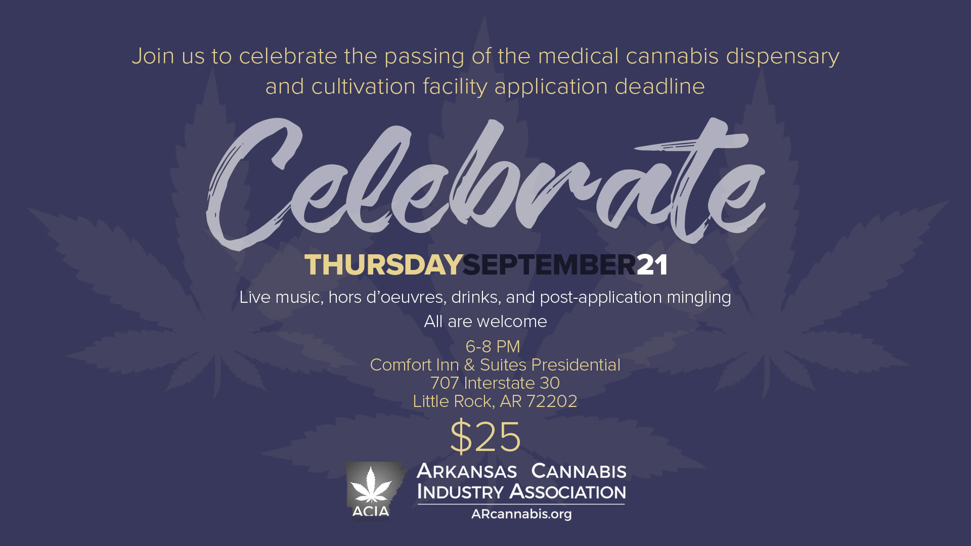 Arkansas Cannabis Mixer (Post-Application)