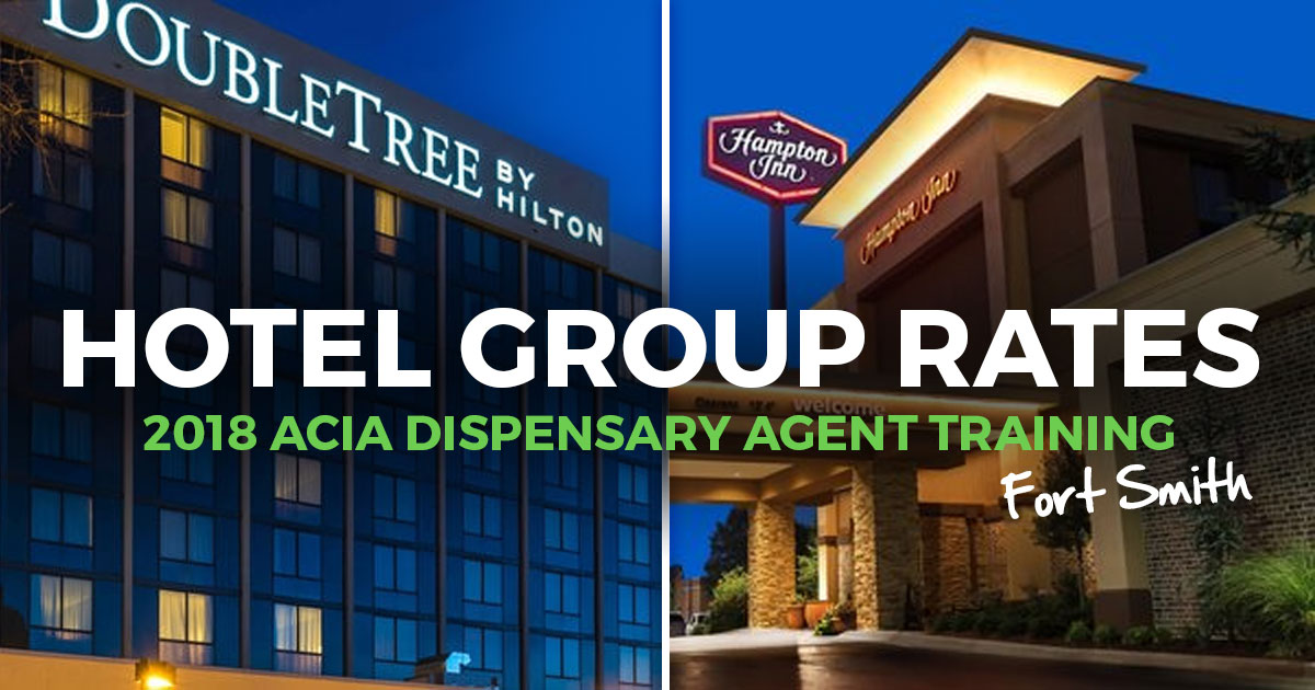 Hotel Discounts For Fort Smith Dispensary Agent Training